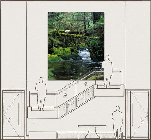spirit bear tapestry proposal image helena hernmarck