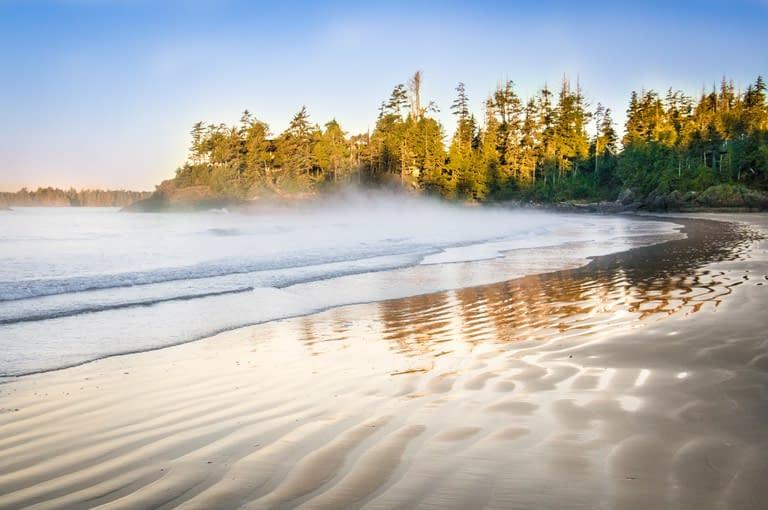 Tofino Beautiful sand beach
