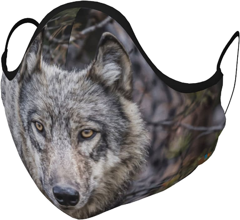 Back to Nature Apparel Wolf Mask