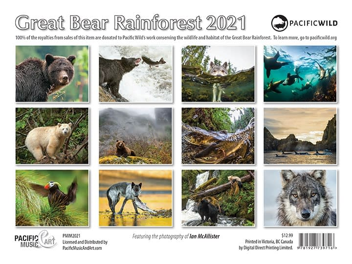 PMA-2021Calendar-GreatBearRainforest-backcover